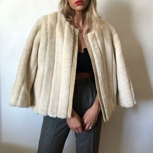 {Banana Republic} faux fur jacket